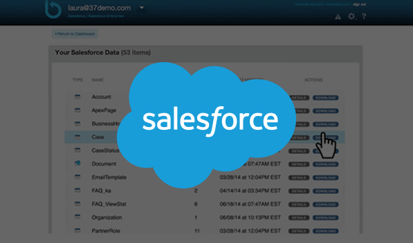 Salesforce Backup from Datto Backupify